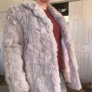 Jackets & Blazers - Stunning rabbit fur coat